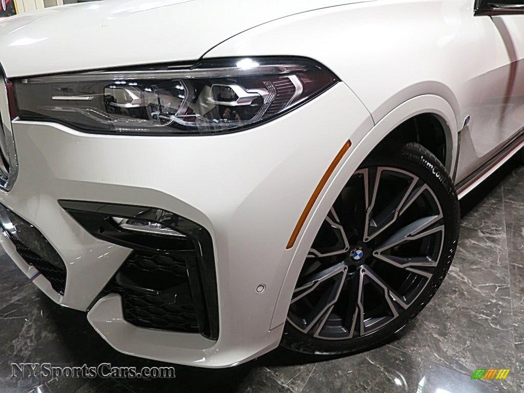 2019 X7 xDrive50i - Alpine White / Ivory White photo #10