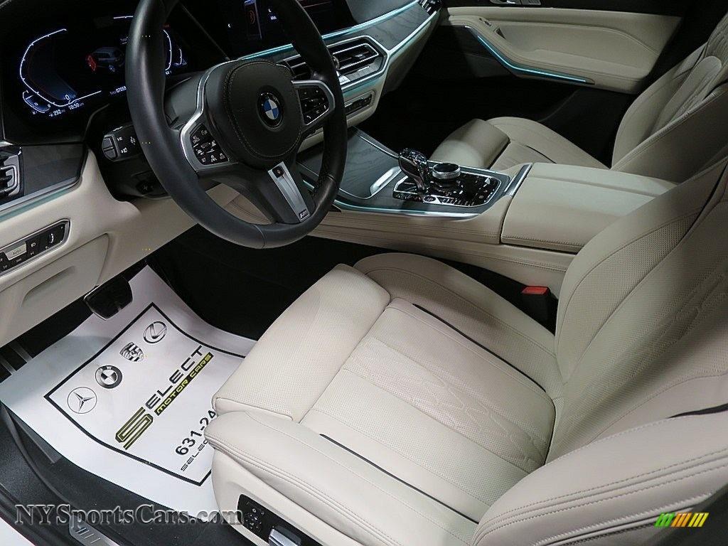 2019 X7 xDrive50i - Alpine White / Ivory White photo #17