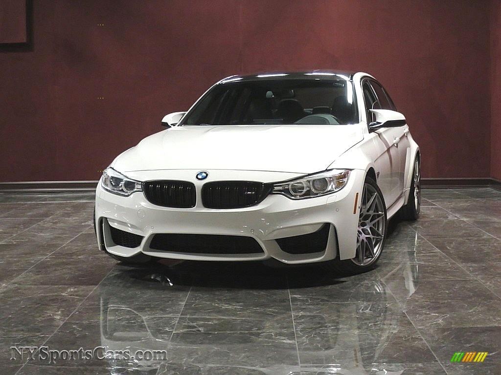 2017 M3 Sedan - Alpine White / Black photo #1