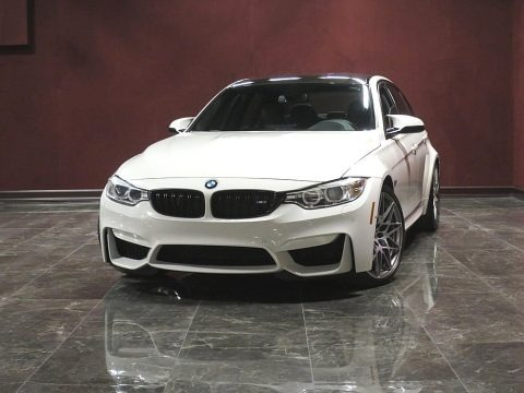 Alpine White 2017 BMW M3 Sedan