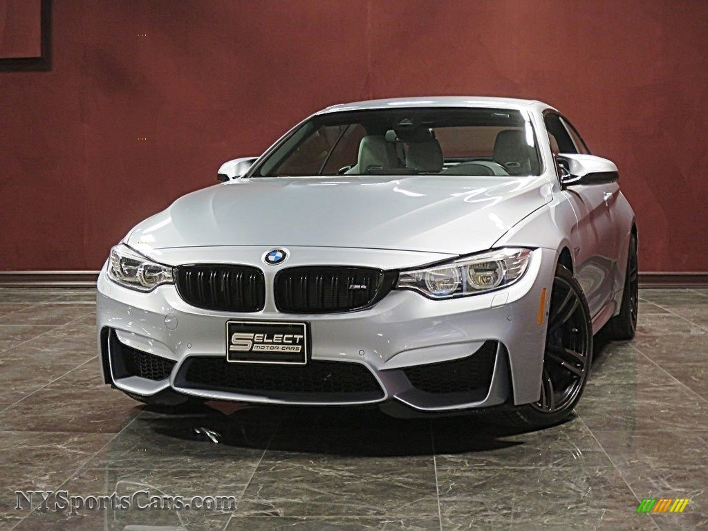 2017 M4 Convertible - Silverstone Metallic / Silverstone photo #1