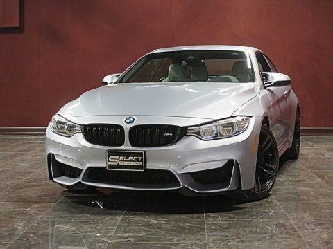Silverstone Metallic 2017 BMW M4 Convertible
