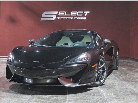 Onyx Black 2018 McLaren 570S Spider