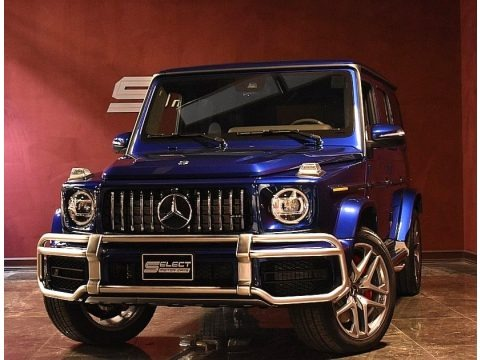 Brilliant Blue Metallic 2020 Mercedes-Benz G 63 AMG