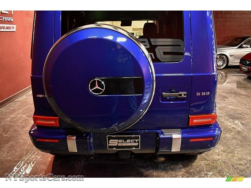 2020 G 63 AMG - Brilliant Blue Metallic / Black photo #5