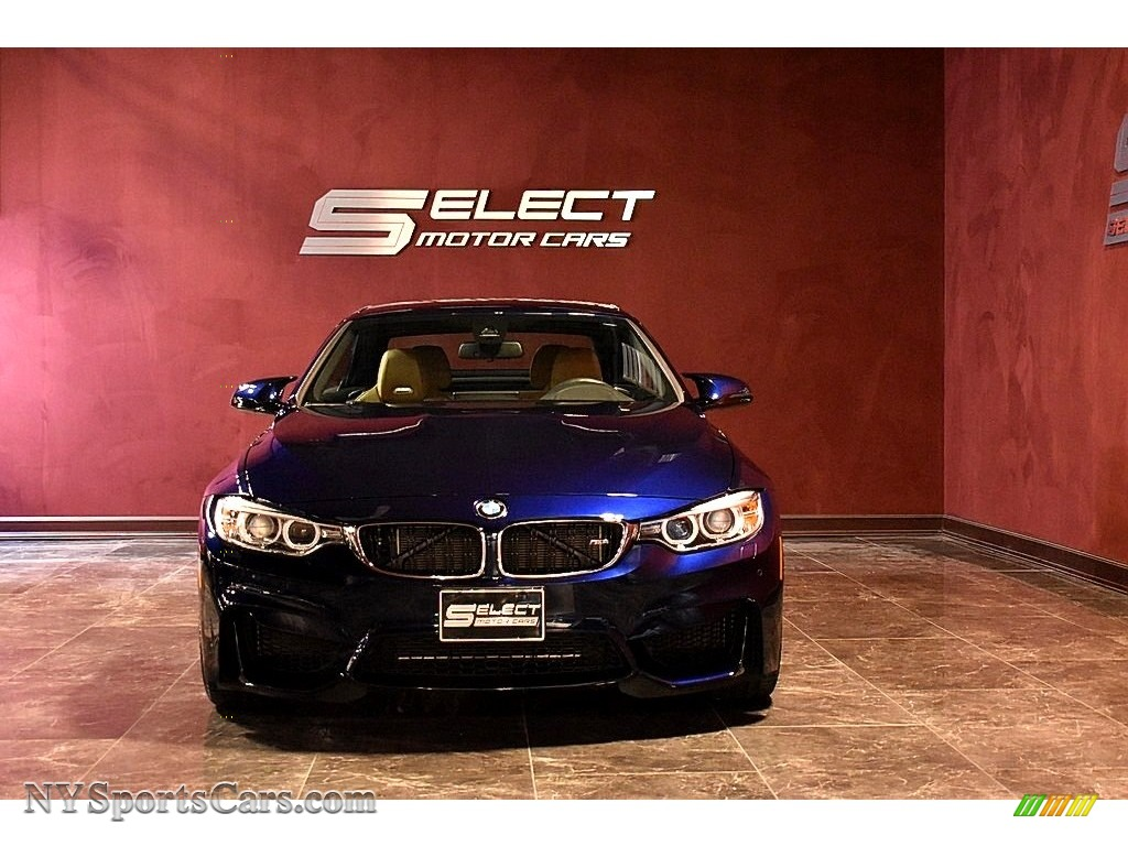 2017 M4 Convertible - Tanzanite Blue Metallic / Sonoma Beige photo #1