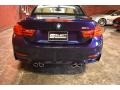 BMW M4 Convertible Tanzanite Blue Metallic photo #3