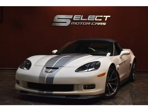 Arctic White 2013 Chevrolet Corvette 427 Convertible Collector Edition