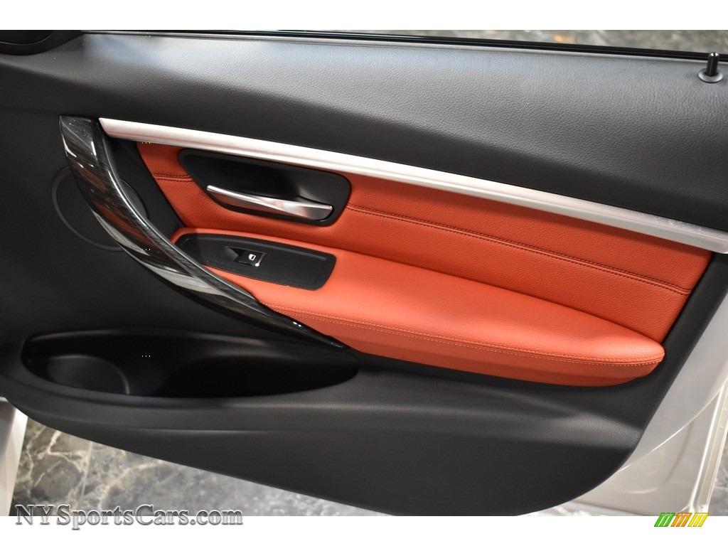 2017 3 Series 330i xDrive Sedan - Alpine White / Coral Red photo #16