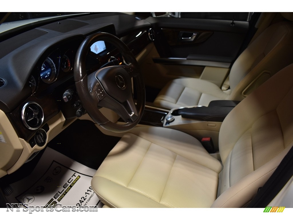 2014 GLK 350 4Matic - Diamond White Metallic / Almond Beige/Mocha photo #8