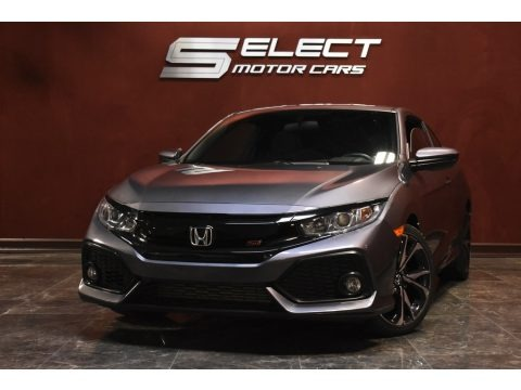 Modern Steel Metallic 2017 Honda Civic Si Coupe
