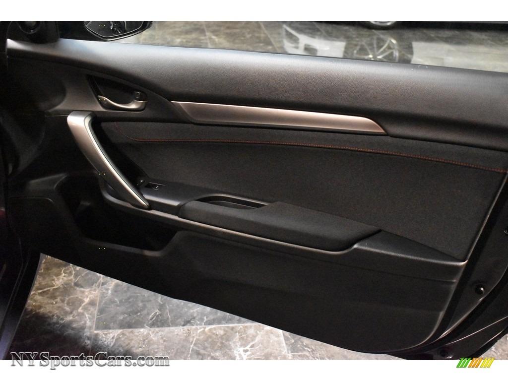 2017 Civic Si Coupe - Modern Steel Metallic / Black photo #12