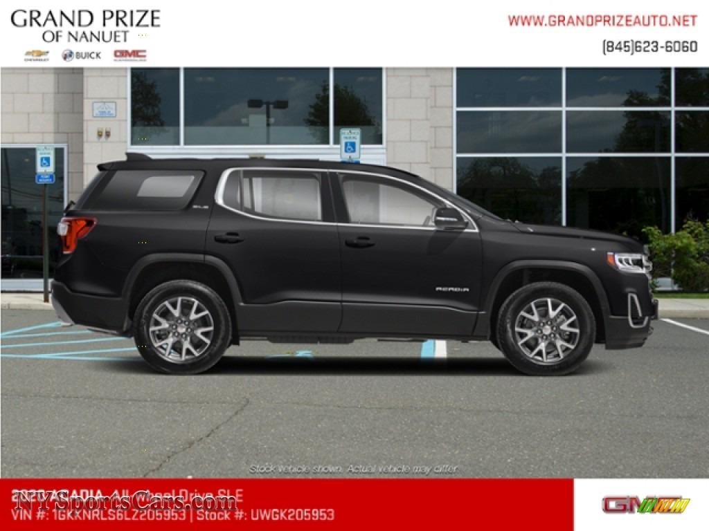 2020 Acadia SLE AWD - Ebony Twilight Metallic / Jet Black photo #5
