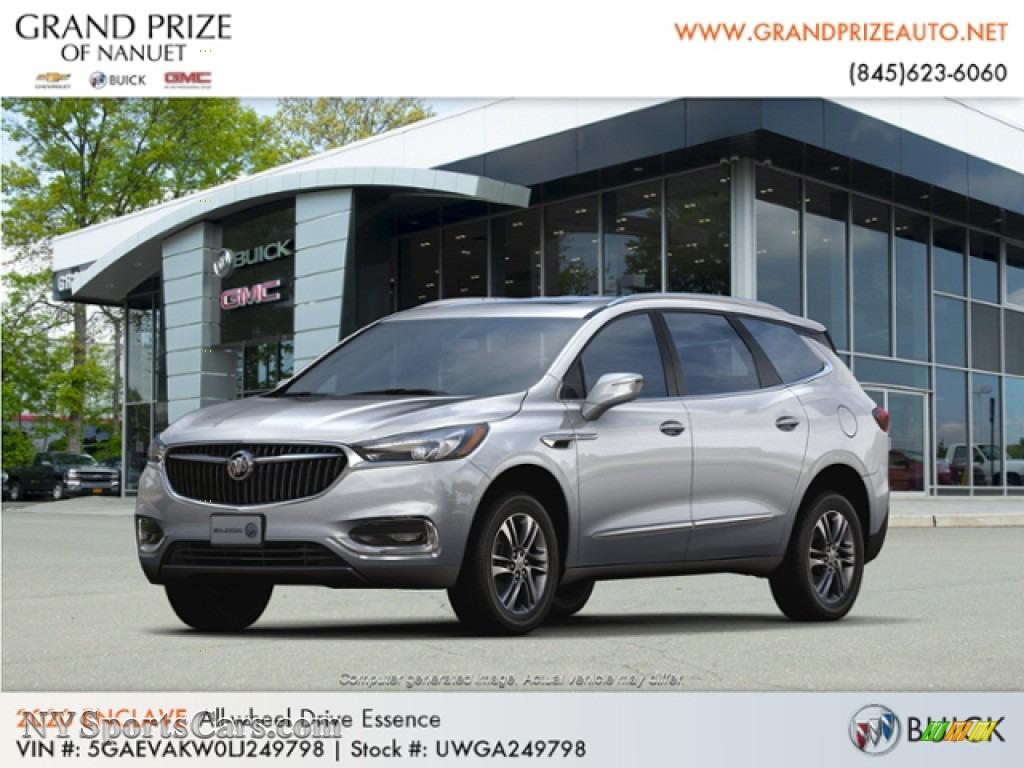 2020 Enclave Essence AWD - Quicksilver Metallic / Dark Galvinized/Ebony photo #1