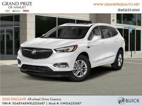 Summit White 2020 Buick Enclave Essence AWD