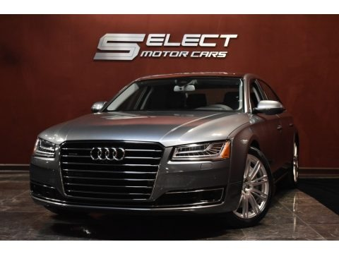 Monsoon Gray Metallic 2015 Audi A8 L 4.0T quattro