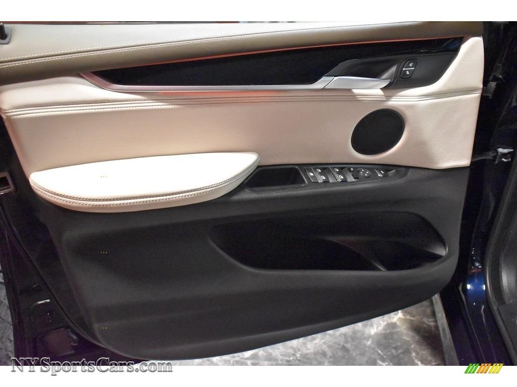 2017 X5 xDrive35i - Carbon Black Metallic / Ivory White/Black photo #13