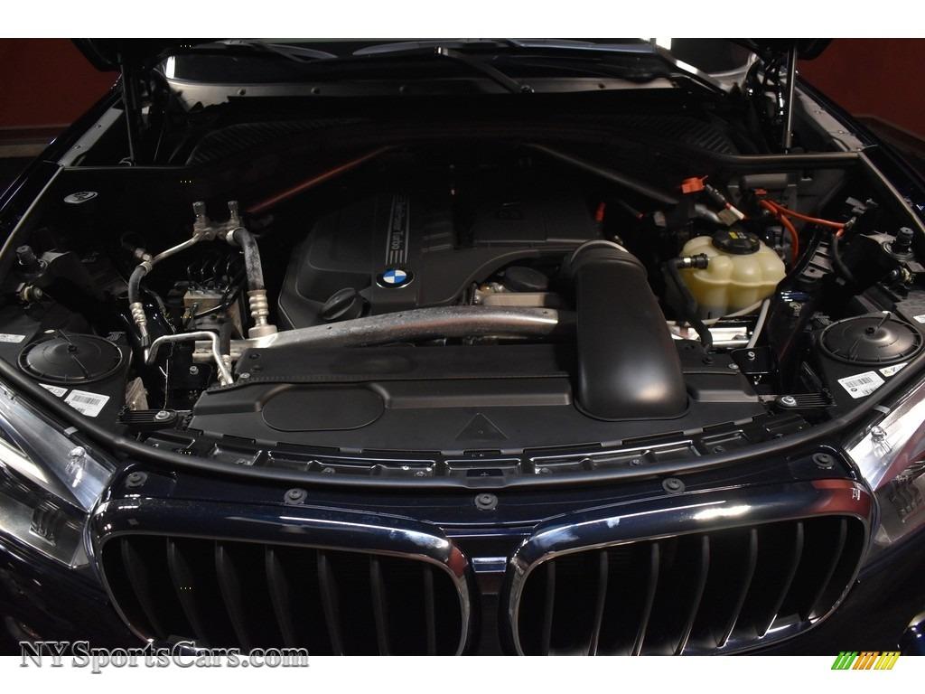 2017 X5 xDrive35i - Carbon Black Metallic / Ivory White/Black photo #19