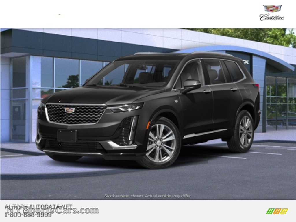 Manhattan Noir Metallic / Jet Black Cadillac XT6 Premium Luxury AWD