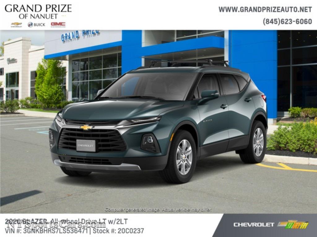 2020 Blazer LT AWD - Graphite Metallic / Jet Black photo #1