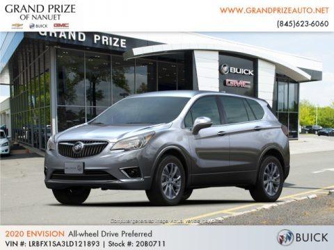 Satin Steel Metallic 2020 Buick Envision Preferred AWD