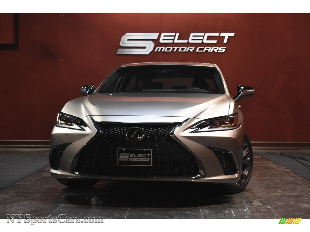 2020 ES 350 F Sport - Atomic Silver / Circuit Red photo #1