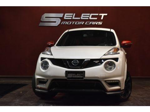 Pearl White 2016 Nissan Juke NISMO RS