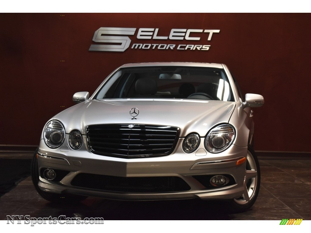 2009 E 350 Sedan - Iridium Silver Metallic / Ash photo #1