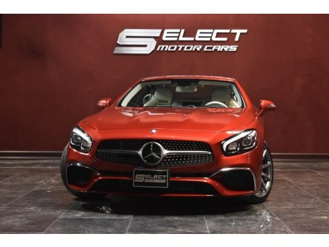 designo Cardinal Red Metallic 2017 Mercedes-Benz SL 550 Roadster
