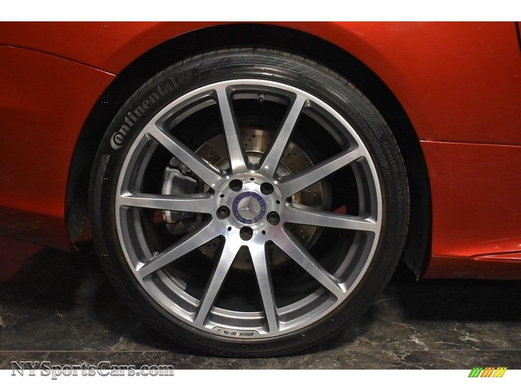 2017 SL 550 Roadster - designo Cardinal Red Metallic / Porcelain/Black photo #8