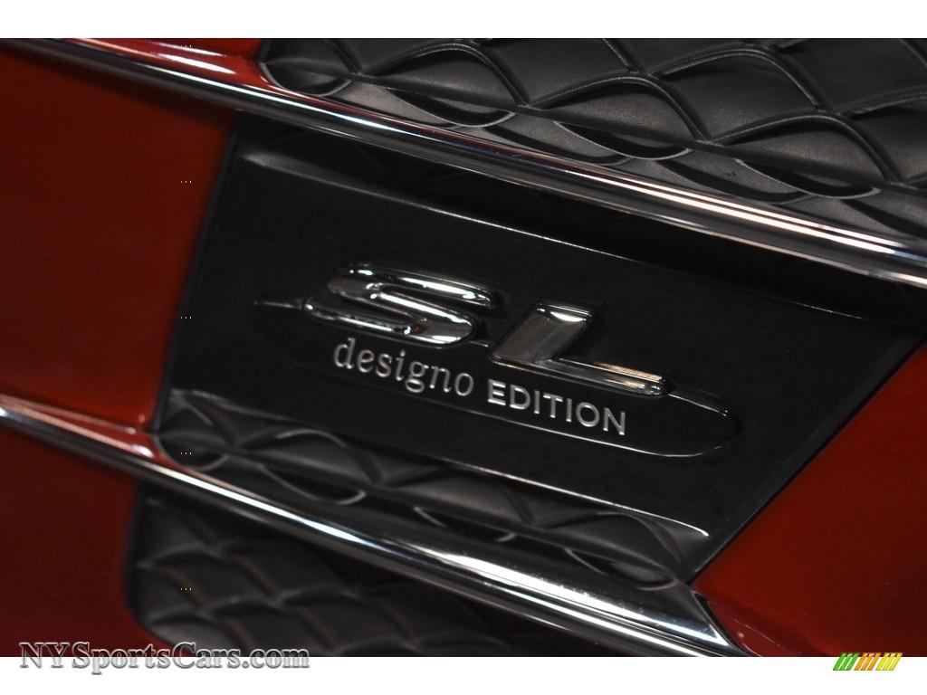 2017 SL 550 Roadster - designo Cardinal Red Metallic / Porcelain/Black photo #9