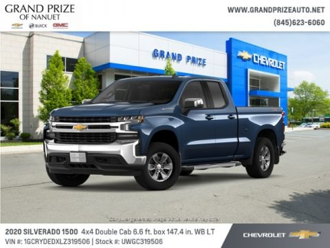 Northsky Blue Metallic 2020 Chevrolet Silverado 1500 LT Double Cab 4x4