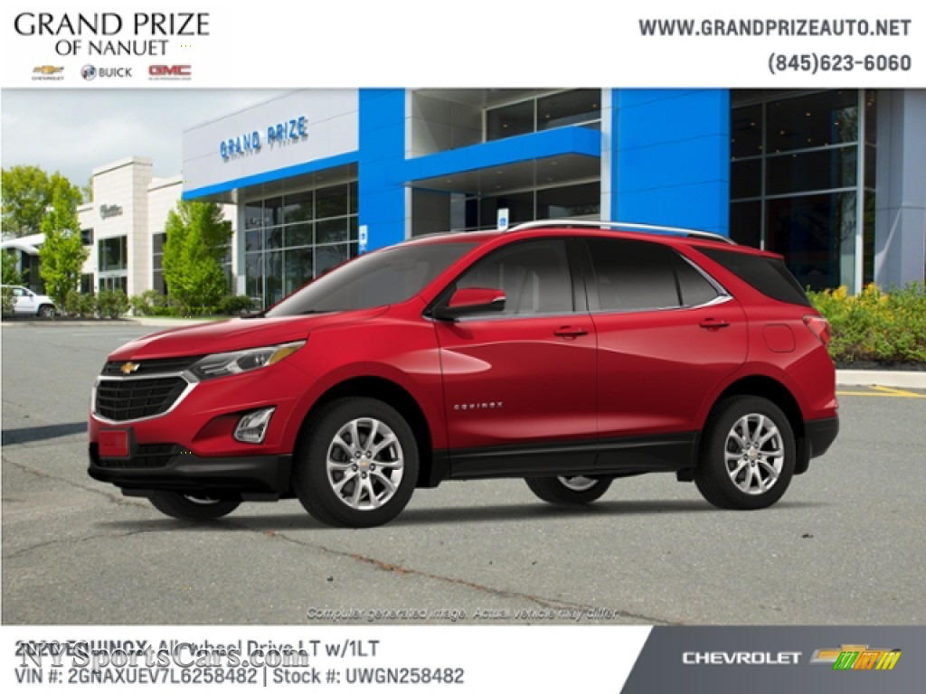 2020 Equinox LT AWD - Cajun Red Tintcoat / Jet Black photo #2