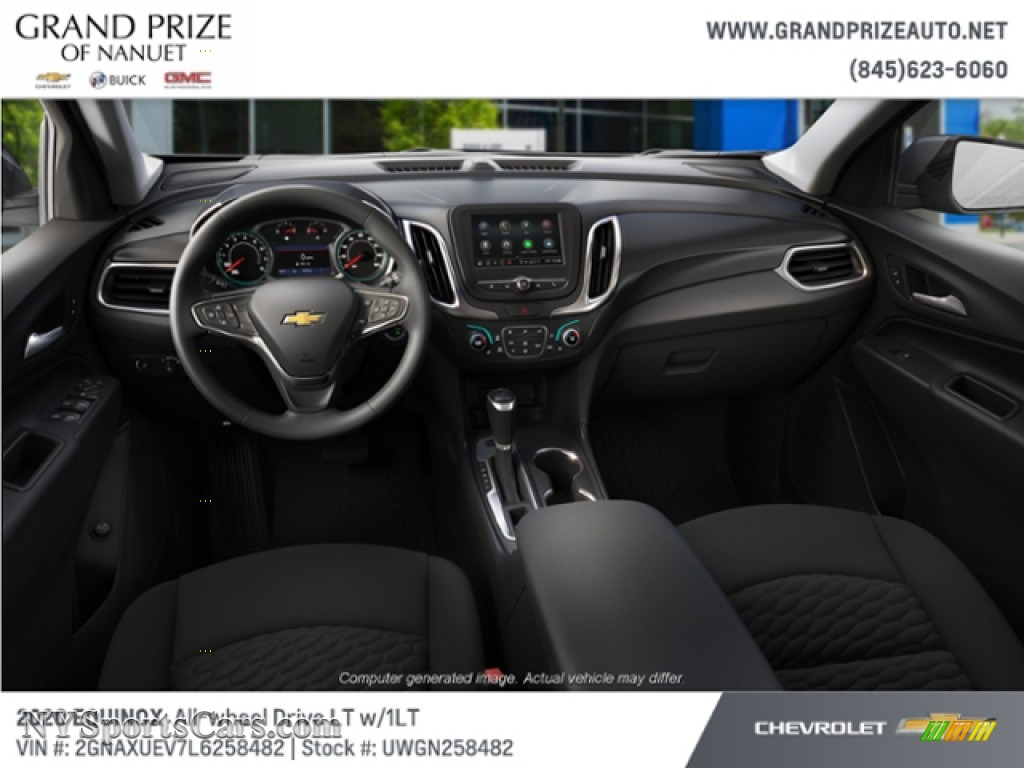2020 Equinox LT AWD - Cajun Red Tintcoat / Jet Black photo #5