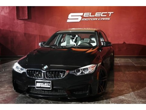Black Sapphire Metallic 2015 BMW M3 Sedan