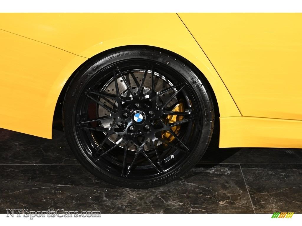 2017 M3 Sedan - Speed Yellow / Black photo #6