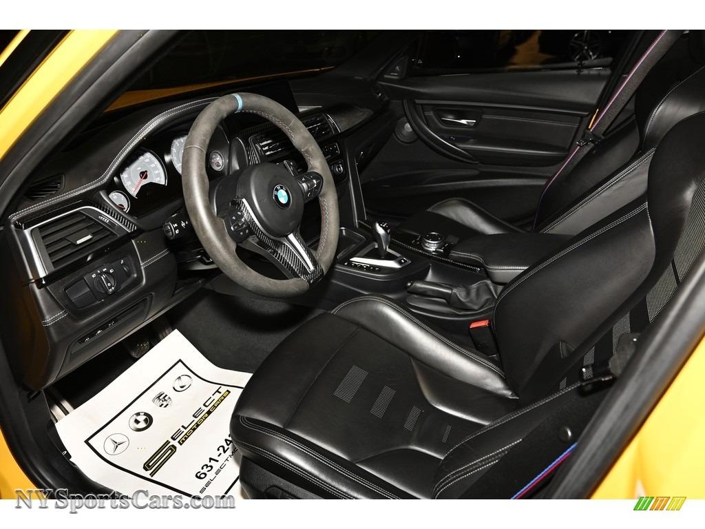 2017 M3 Sedan - Speed Yellow / Black photo #8
