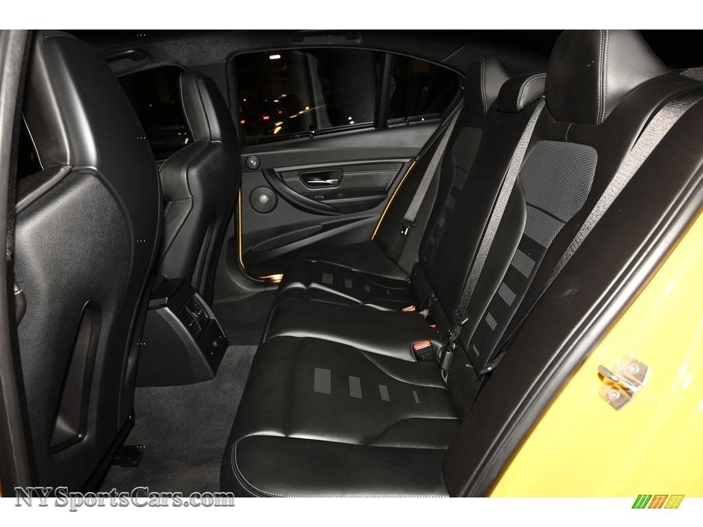 2017 M3 Sedan - Speed Yellow / Black photo #13