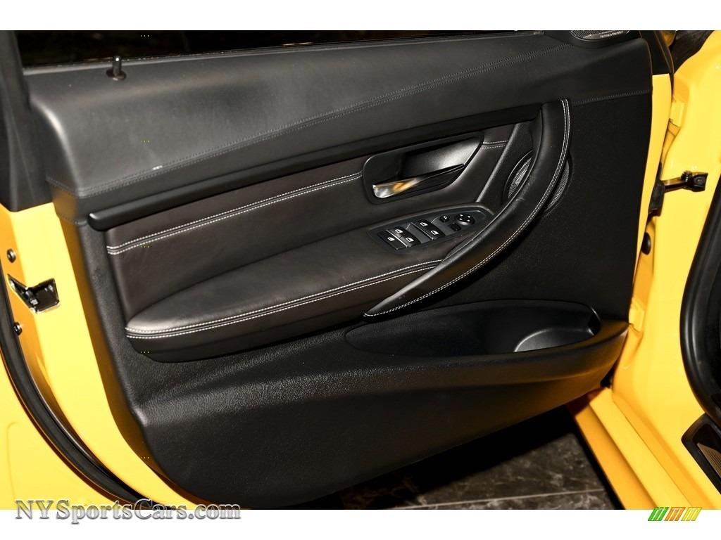 2017 M3 Sedan - Speed Yellow / Black photo #14