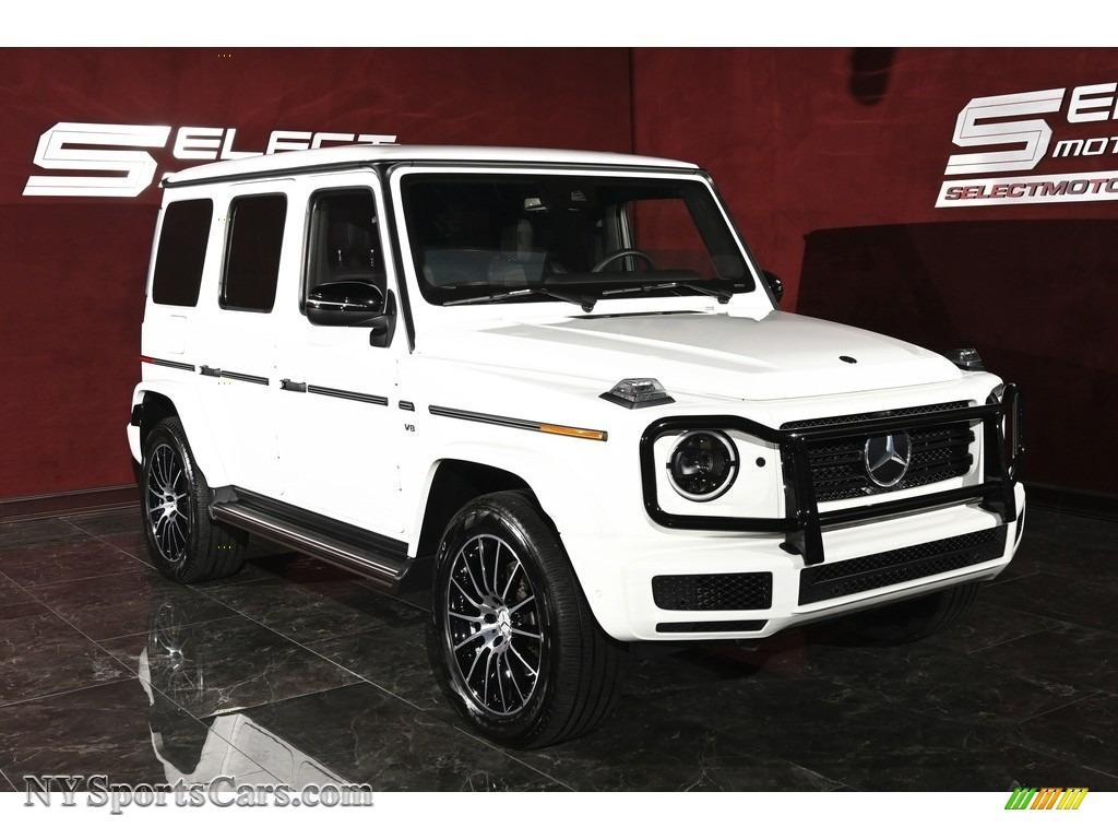 2019 G 550 - Polar White / Black photo #3