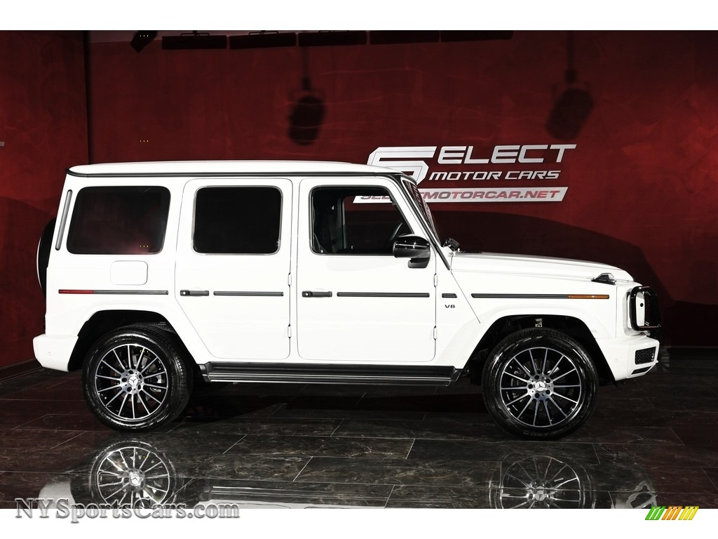 2019 G 550 - Polar White / Black photo #4