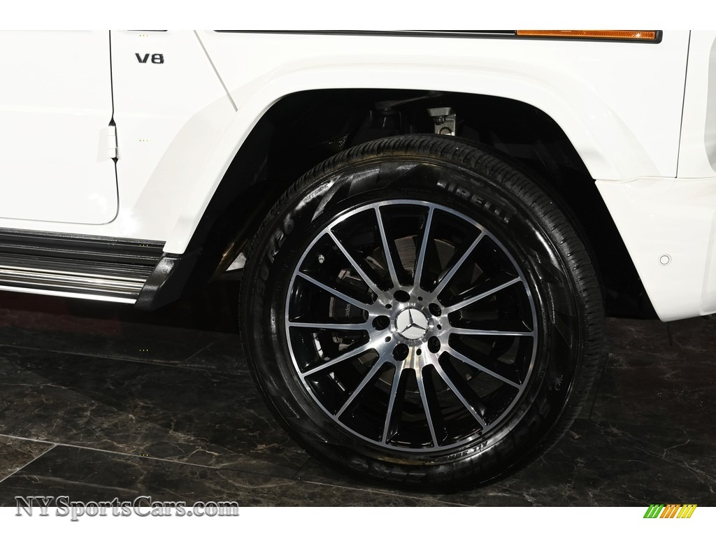 2019 G 550 - Polar White / Black photo #9