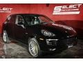 Porsche Cayenne E-Hybrid Platinum Edition Black photo #4
