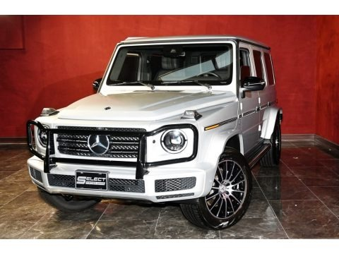Iridium Silver Metallic 2019 Mercedes-Benz G 550