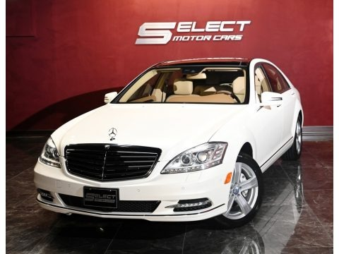 Diamond White Metallic 2011 Mercedes-Benz S 550 4Matic Sedan