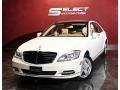 Mercedes-Benz S 550 4Matic Sedan Diamond White Metallic photo #1