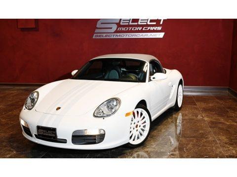 Carrara White 2008 Porsche Boxster S Limited Edition