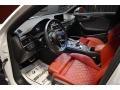 Audi S4 Premium Plus quattro Sedan Glacier White Metallic photo #8
