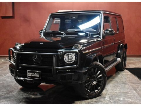 Black 2019 Mercedes-Benz G 550