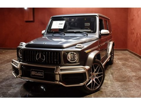 designo Graphite Metallic 2020 Mercedes-Benz G 63 AMG